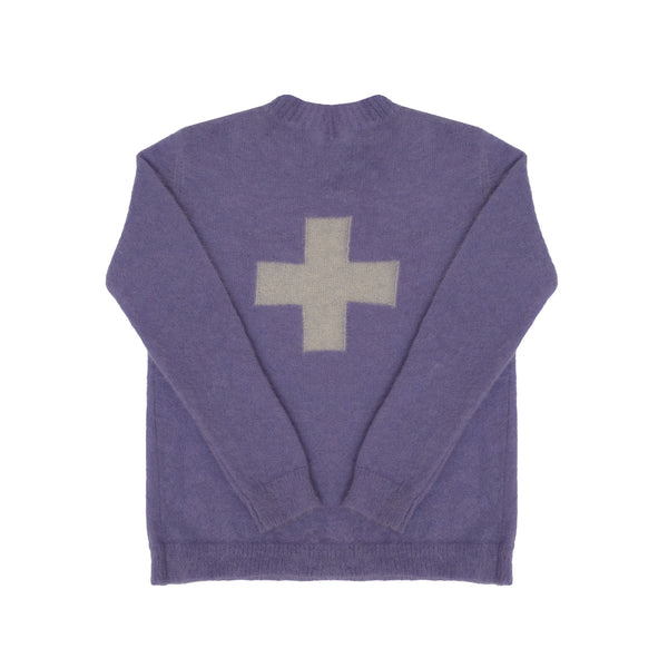 MOHAIR SWEATER - LILAC