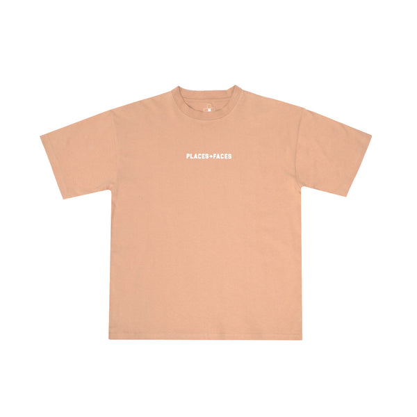 LOGO T-SHIRT - BROWN