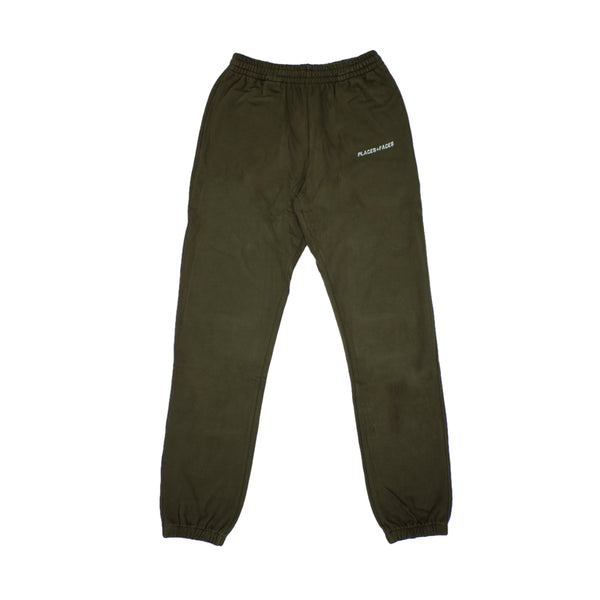 LOGO SWEATPANTS - KHAKI