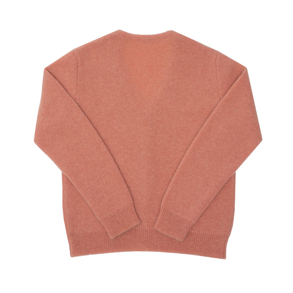MOHAIR CARDIGAN - DUST PINK