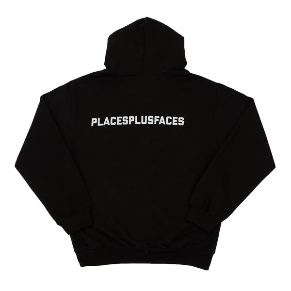 BLACK PLACES PLUS FACES HOODIE 3M
