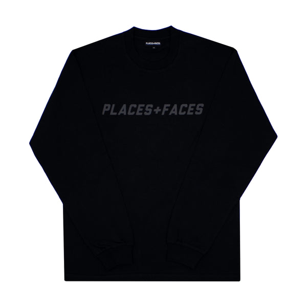 BLACK ON BLACK LONGSLEEVE TOP