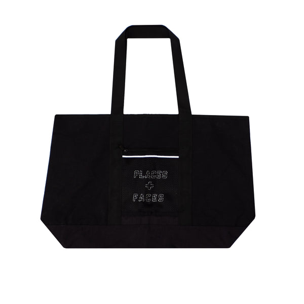 WORLDWIDE P+F TOTE BAG - BLACK