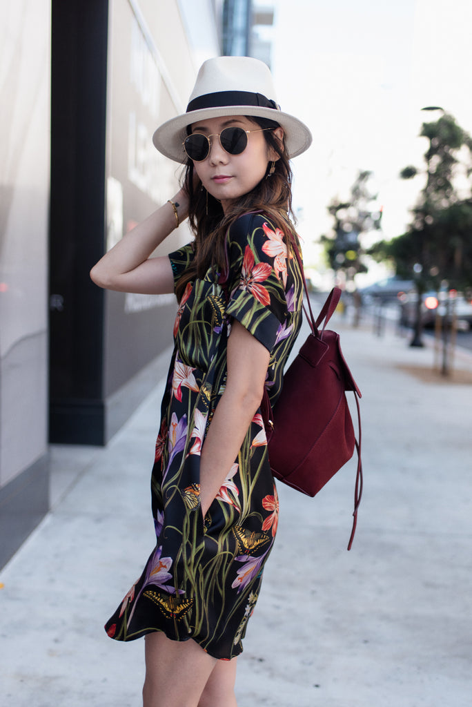Helen Ma Wears HARK+HAMMER in Tropical Vibe Post