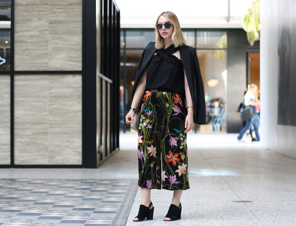 The Editorialist LA by by style blogger Marissa Pomerancein HarkandHammer silk culotte