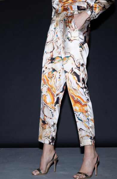 Jogger Pant + Marble