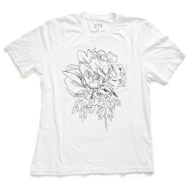 The Peony Shirt in White