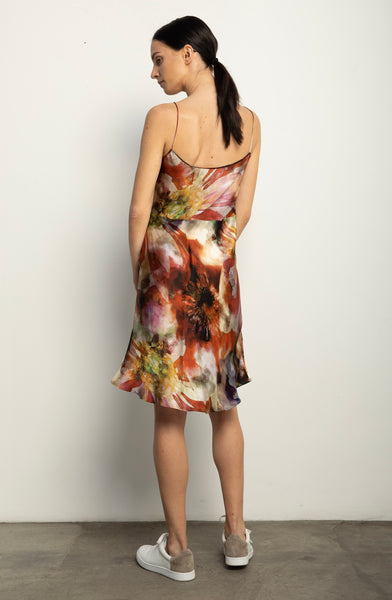 The Silk Bias Slip + Hothouse Floral