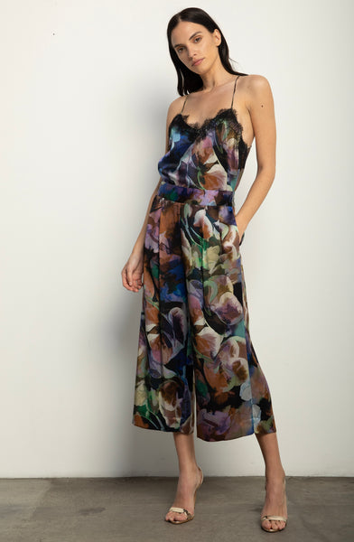 The Silk Culotte + Floral Abyss