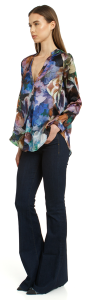 The Silk Blouse + Floral Abyss
