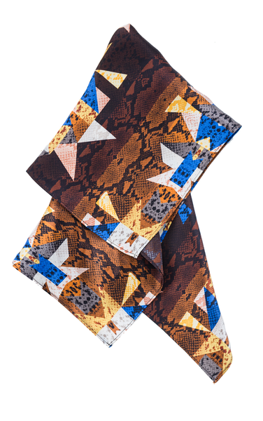 The Silk Neckerchief + Cobra Kaleidoscope