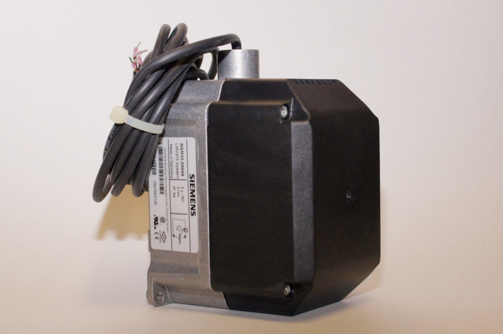 Siemens: SQM33.550A9 Actuator for LMV3 Control, 27 in-lb Torque