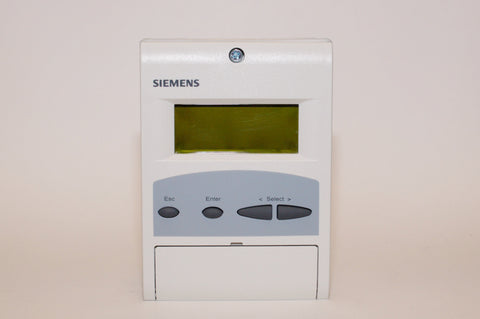 Siemens: AZL52.40B1 Display & Operating Unit