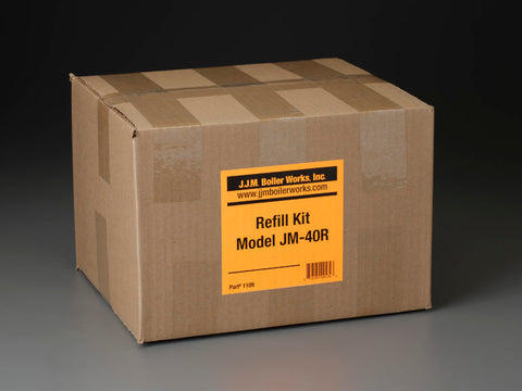 JJM Boiler Works: JM-40R Single Refill Kit / pH Power Pellets