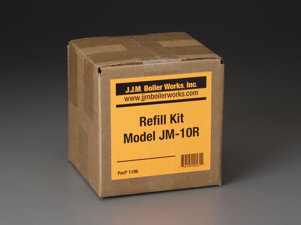 JJM Boiler Works: JM-10R Single Refill Kit / pH Power Pellets