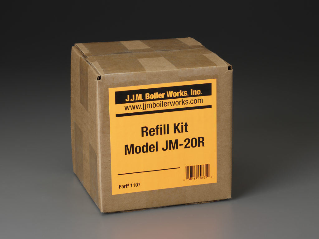 JJM Boiler Works: JM-20R Single Refill Kit / pH Power Pellets