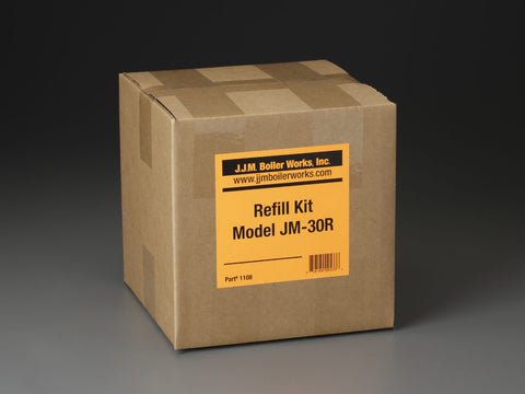 JJM Boiler Works: JM-30R Single Refill Kit / pH Power Pellets