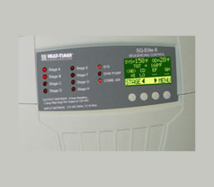 Heat-Timer SQ-8S Elite Steam Lead/Lag Sequencing Control for Staging Boilers P/N 926737-00