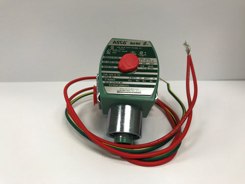 "ASCO 3/8"" NPT 2 Way Normally Closed Direct Acting Gas Shutoff Valve (120V)"