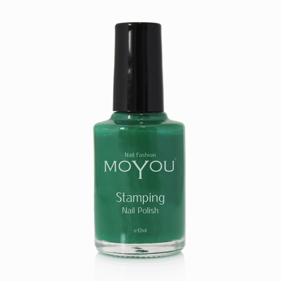 Green Stamping Nail Polish- MoYou Nail Fashion