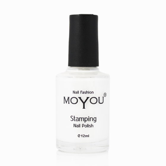 White Knight Stamping Nail Polish- MoYou Nail Fashion