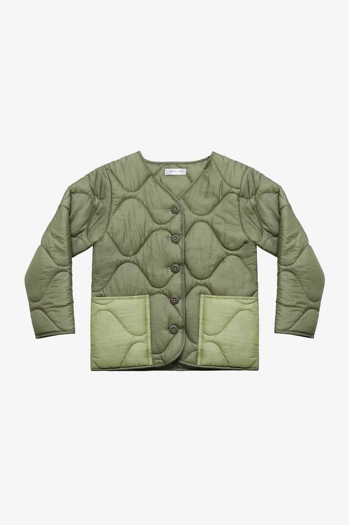 ANINE BING KIDS Mini Andy Bomber - Military Green