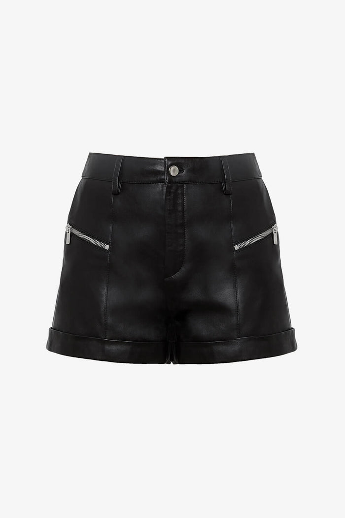 ANINE BING Lia Shorts  - Black