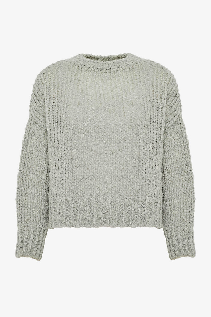 ANINE BING Greyson Sweater - Dusty Mint