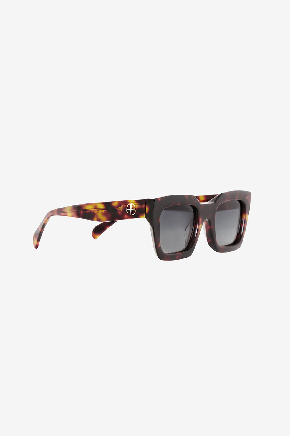 ANINE BING Indio Sunglasses - Dark Tortoise