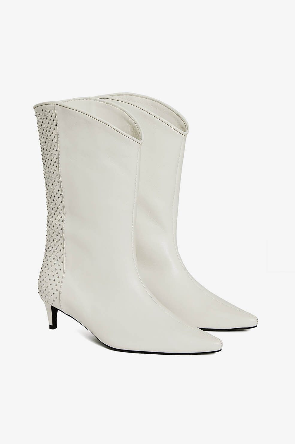 Reagan Boots - White