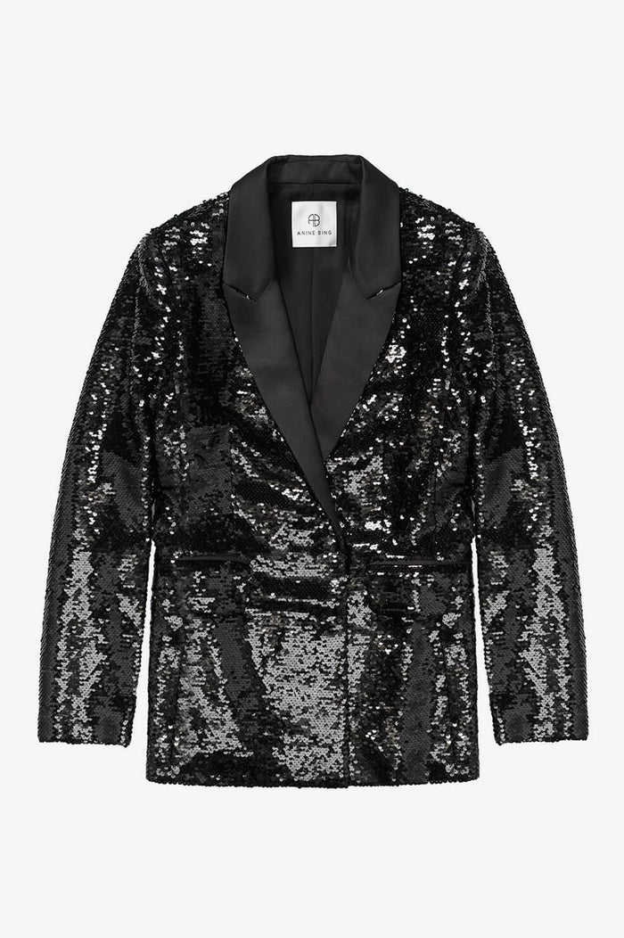 ANINE BING Ace Blazer - Black