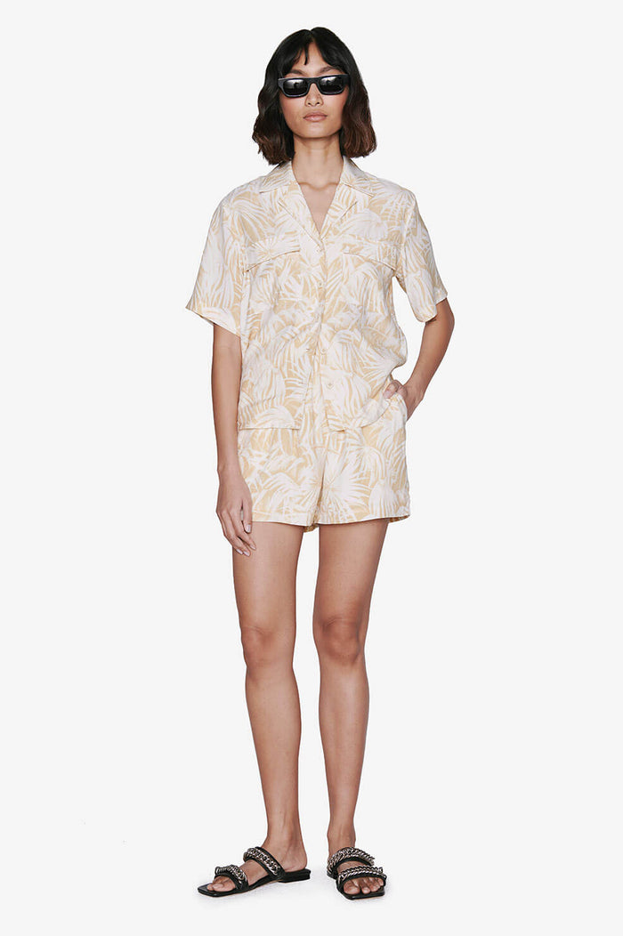 ANINE BING Candice Short - Hawaiian Print