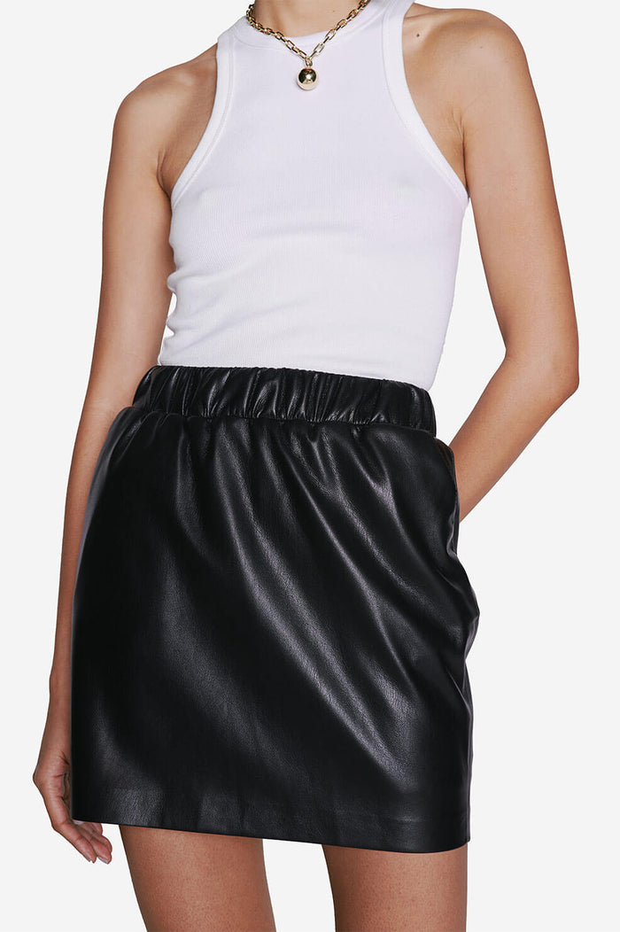 ANINE BING Page Skirt - Black