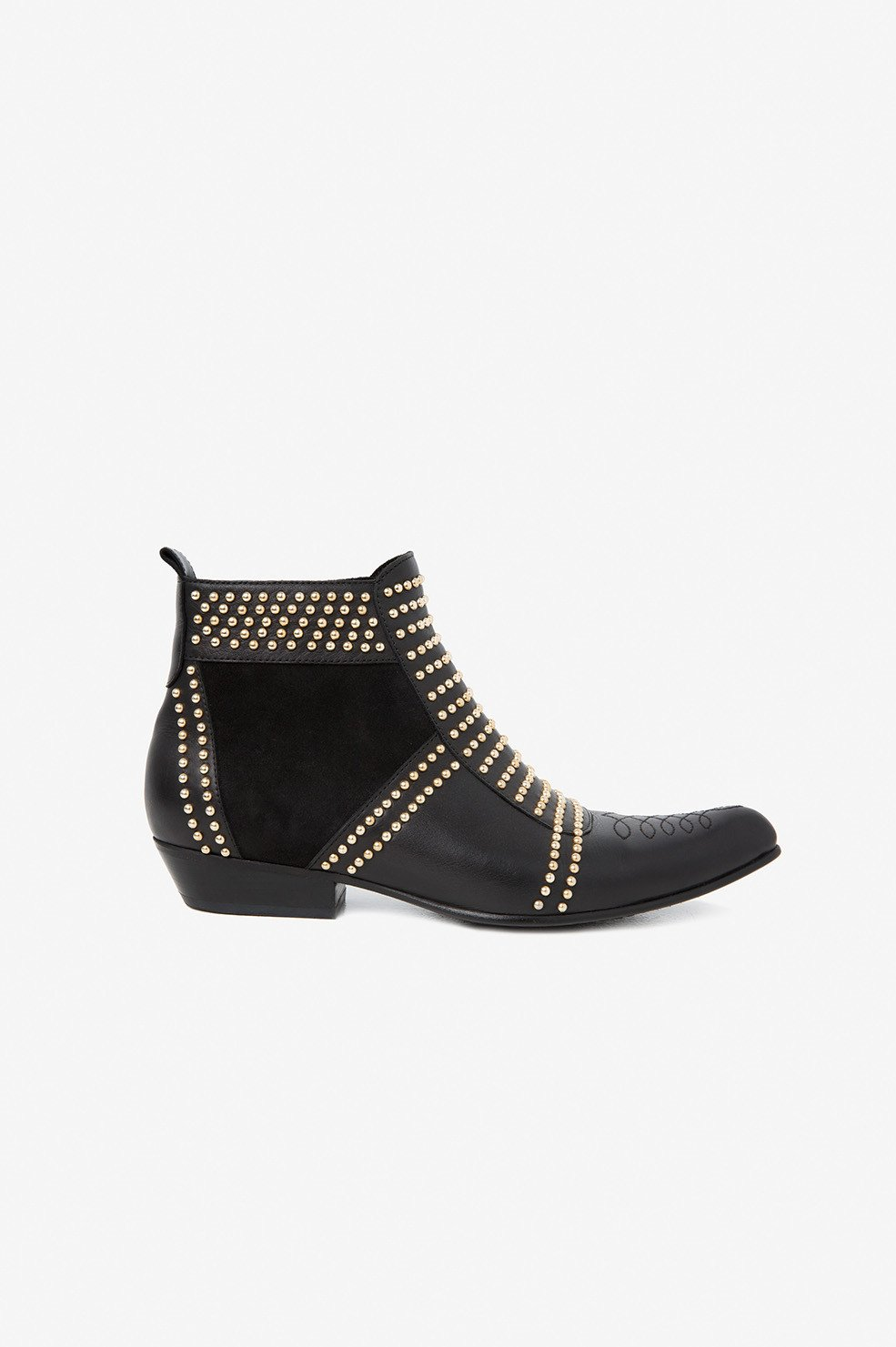 Charlie Boots - Gold Studs