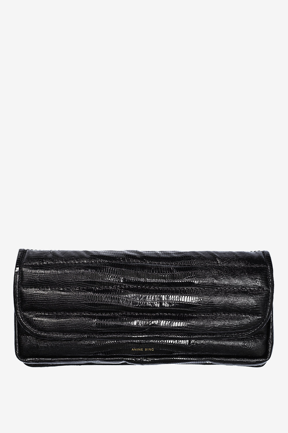 Natasha Clutch AB X HC - Black Croco