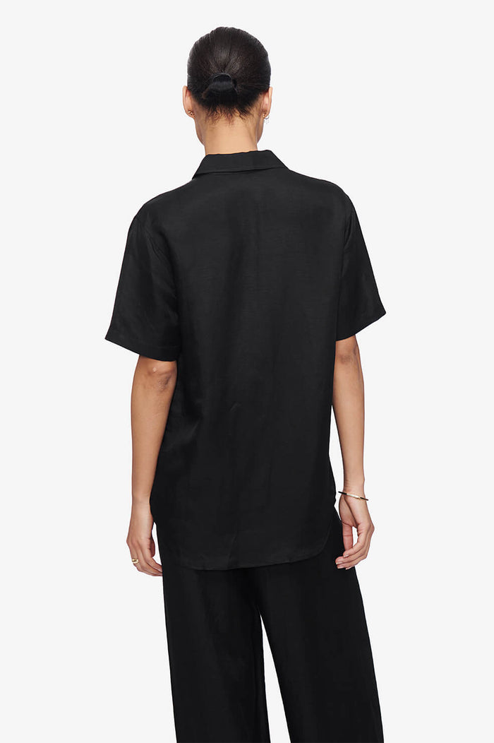 ANINE BING Bruni Shirt - Black