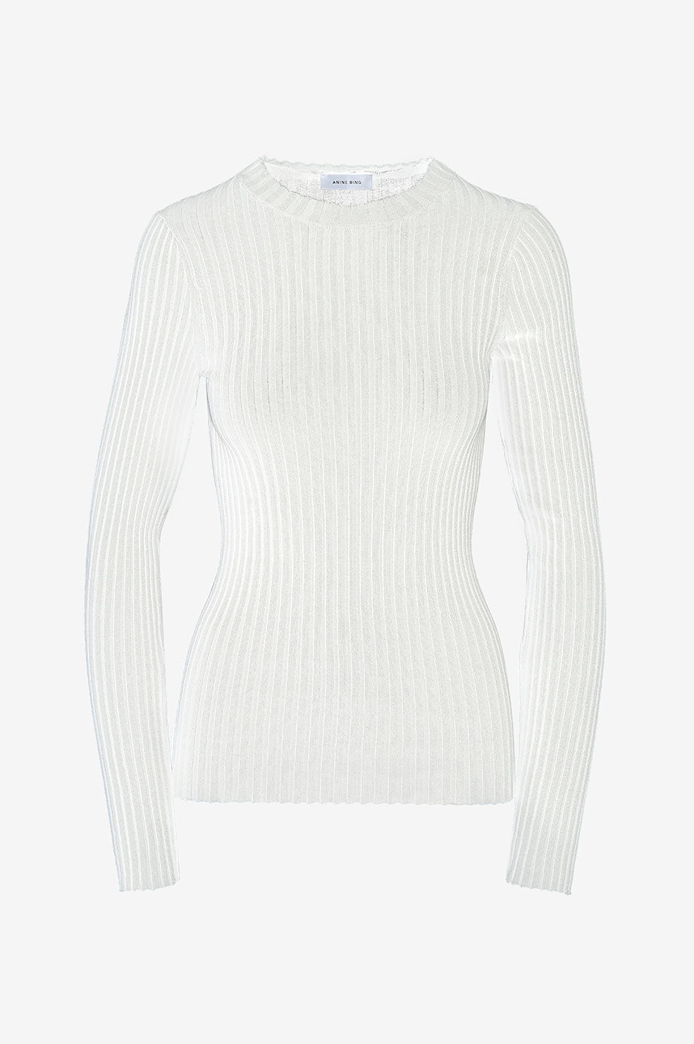 ANINE BING Cecilia Top - Ivory