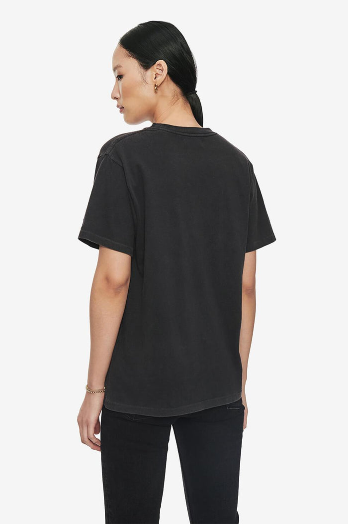 ANINE BING Lili Tee Revolution - Washed Black