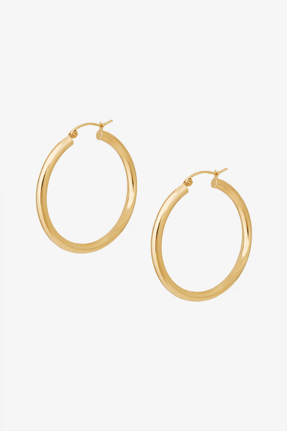 Hoop Earrings - Gold