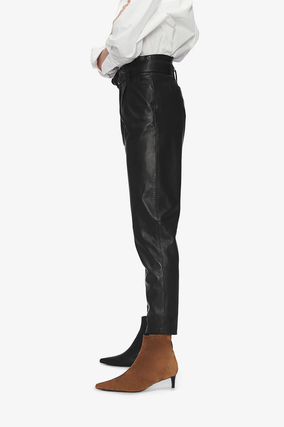 ANINE BING Inez Trouser - Black