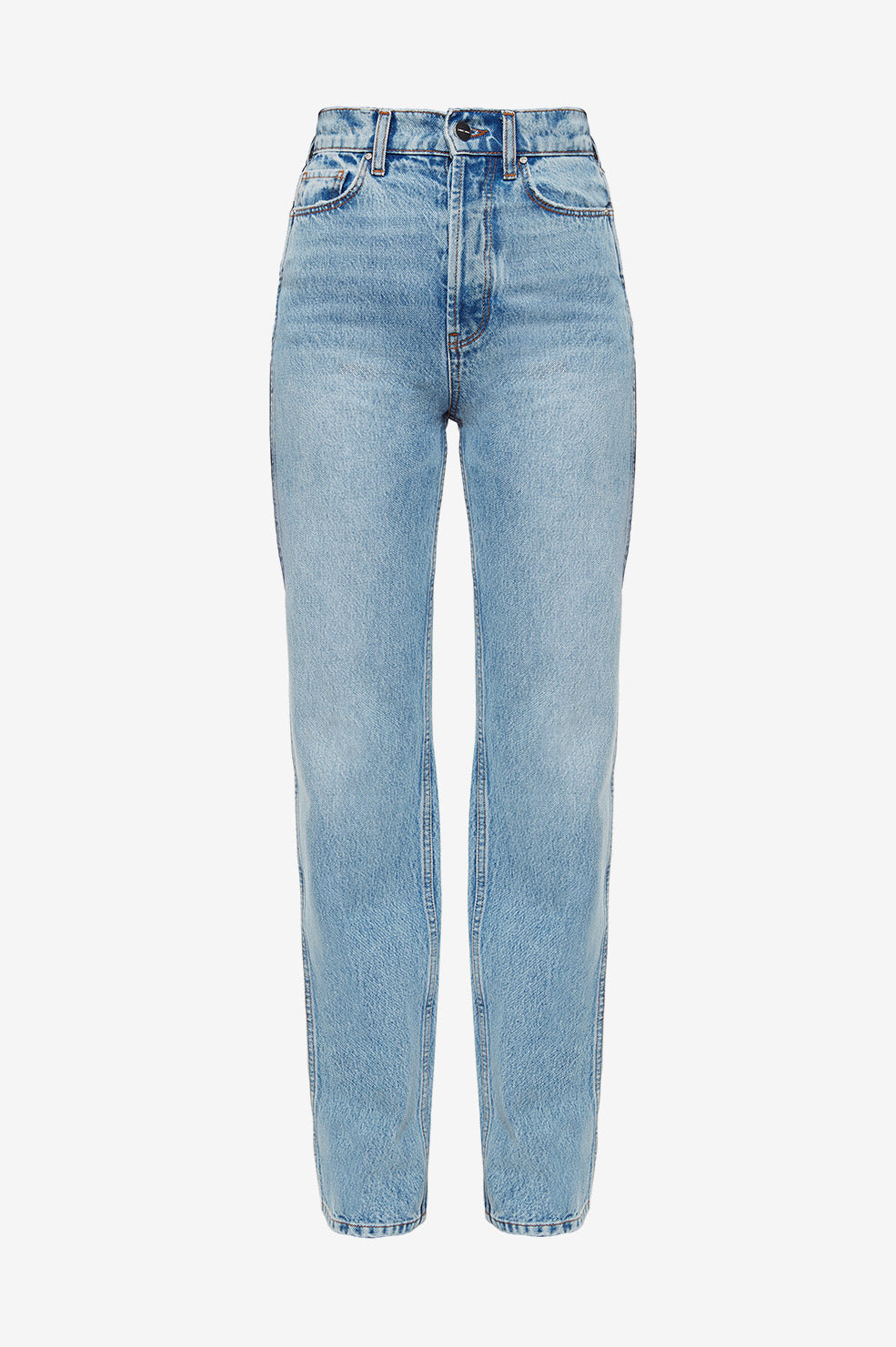 ANINE BING Kat Jean AB X HC - Light Blue