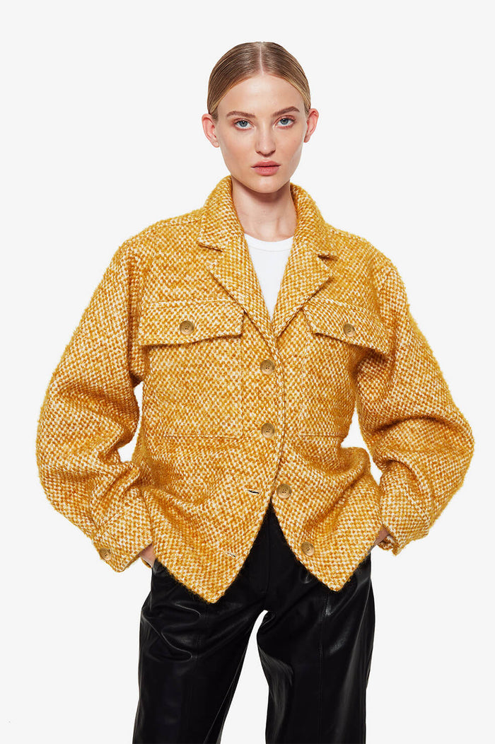 ANINE BING Leon Jacket - Gold