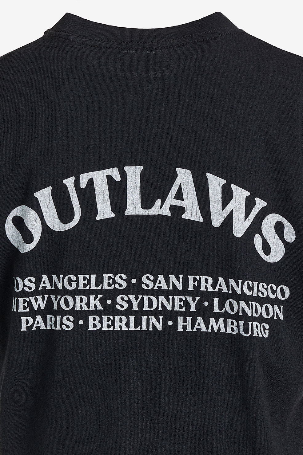 ANINE BING Lili Tee Outlaw - Washed Black