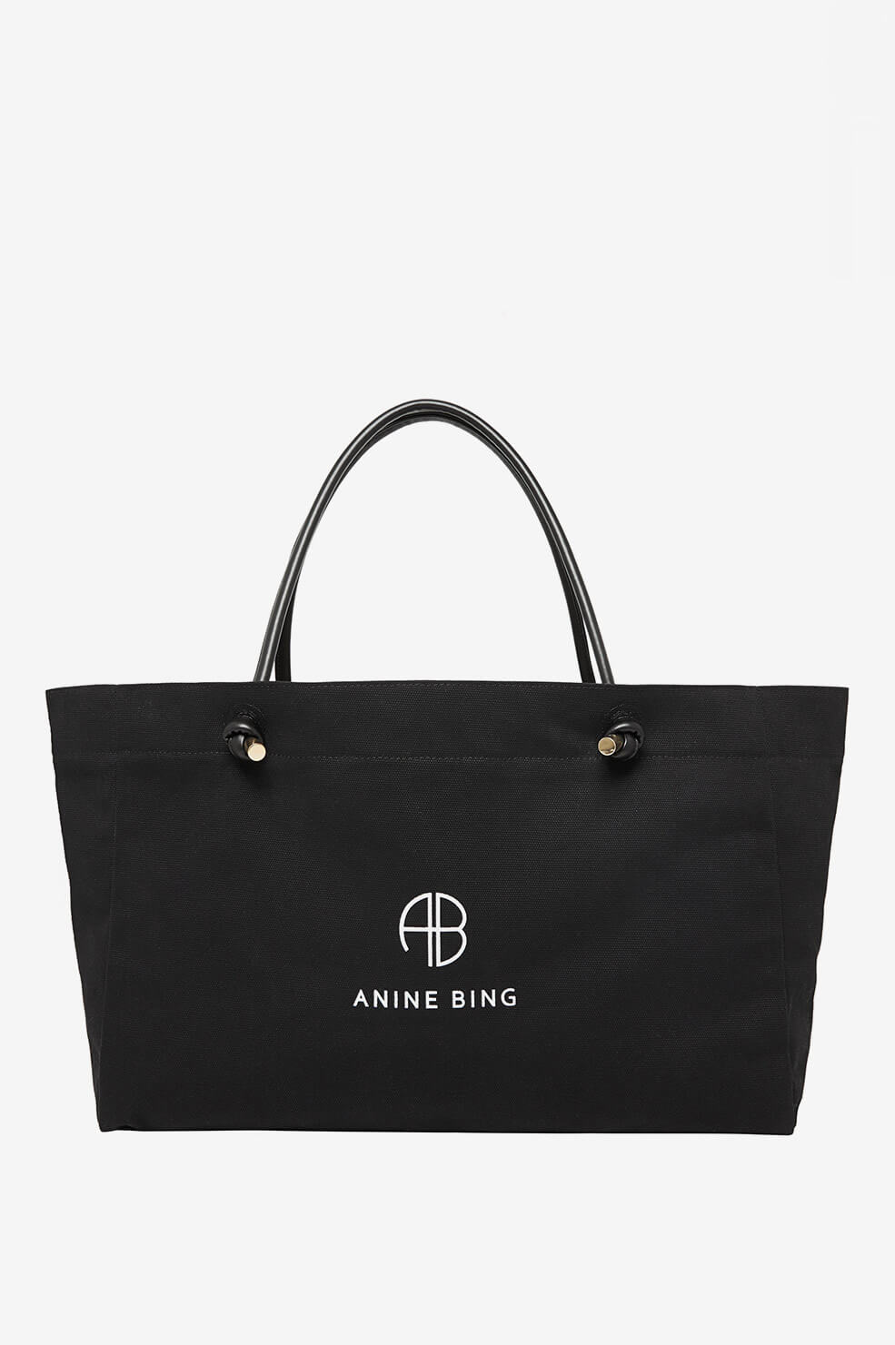 Medium Saffron Tote - Black
