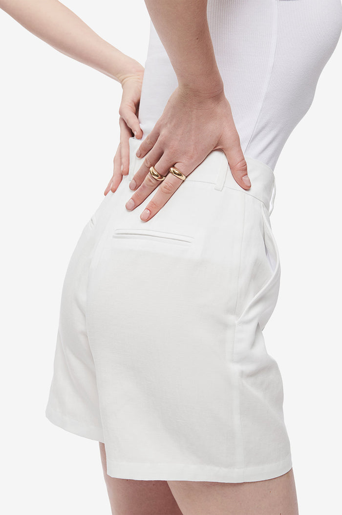 ANINE BING Mila Short - White
