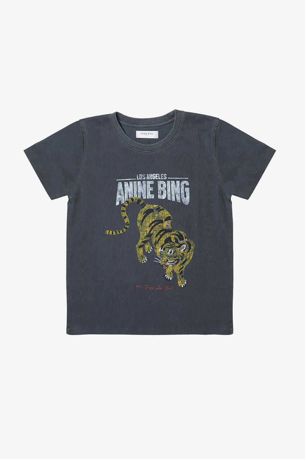 Mini Lili Tee - Cream Zebra