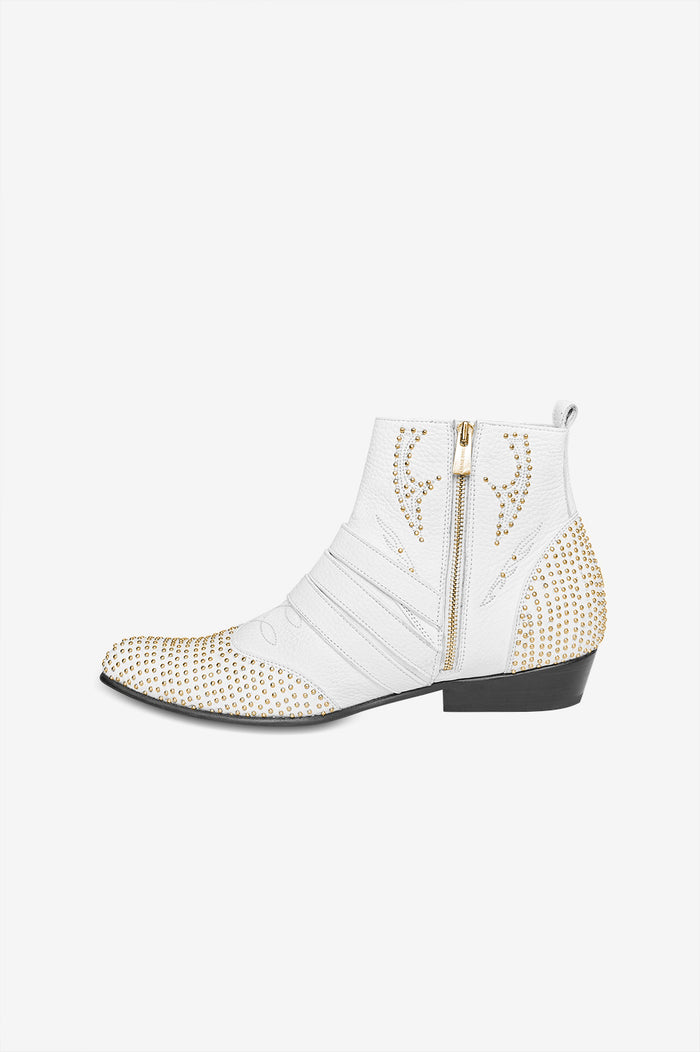 Penny Boots - White