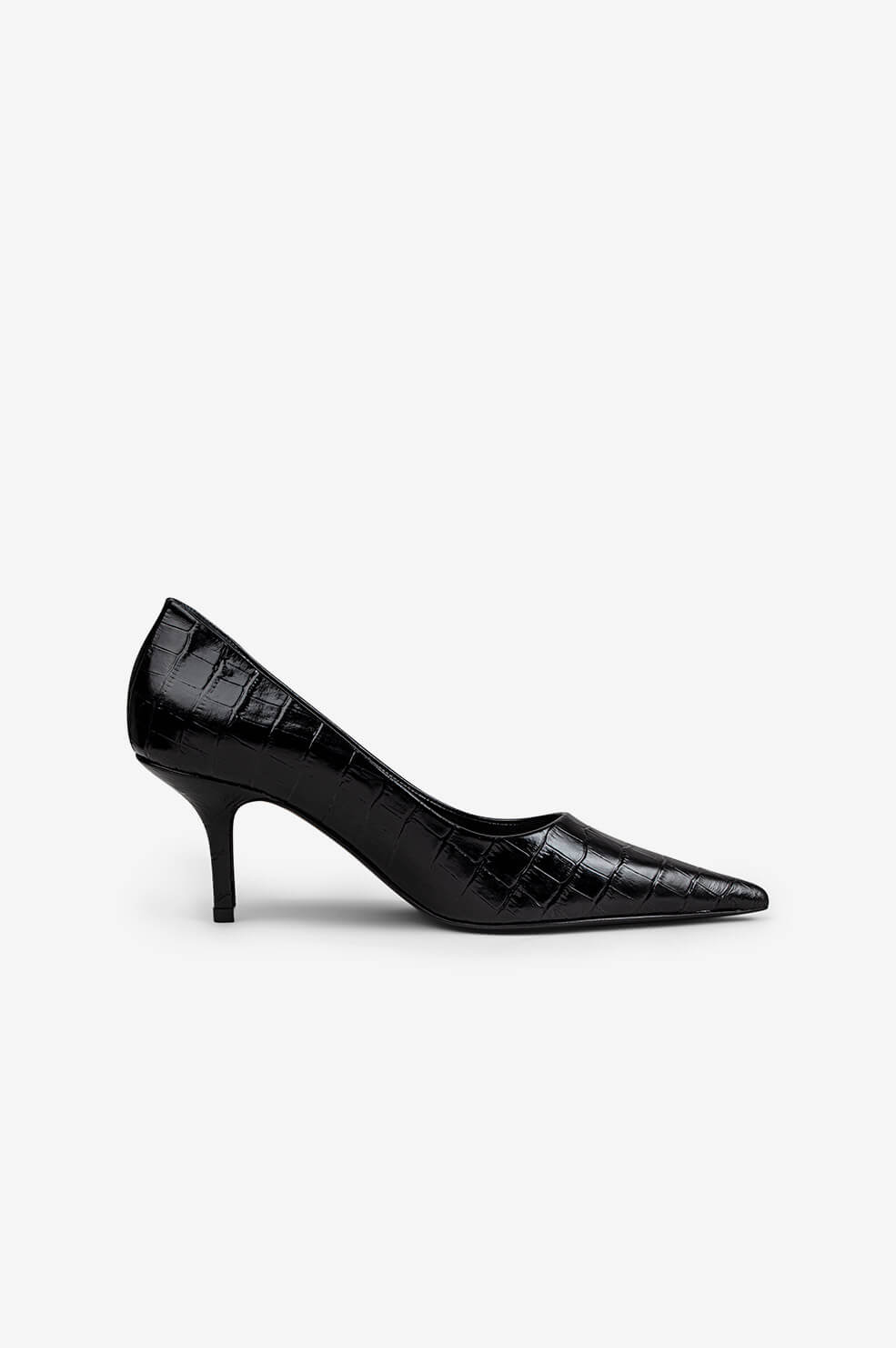 Perry Pumps - Black Croco