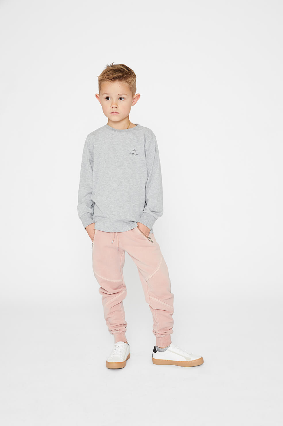 Mini Rex Jogger - Washed Pink