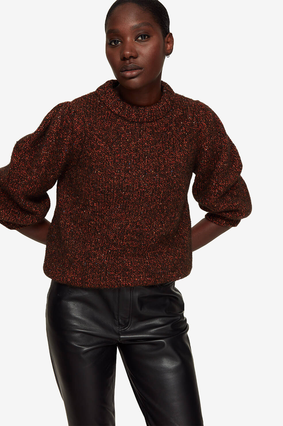 Rosalind Sweater - Brown